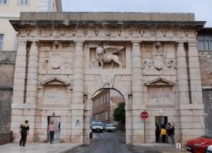 Porte de la Terre Ferme, Zadar, Croatie