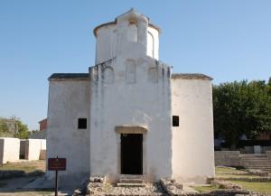 Église paléocroate Sainte Croix, Nin, Croatie
