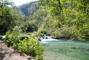 Parc national des lacs de Plitvice.