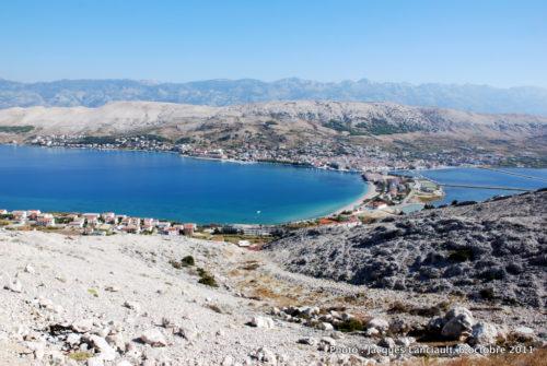 Île de Pag, Dalmatie du Nord, Croatie.