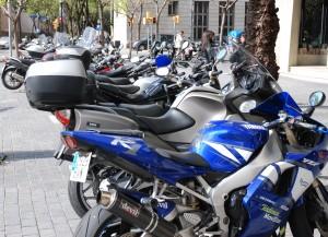 Sans oublier évidemment... la motocyclette!