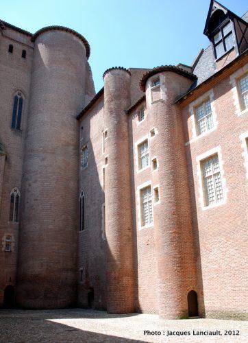 Le palais de la Berbie, Albi, France