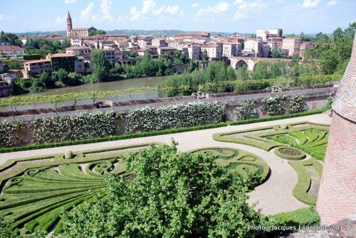 Jardin du palais de la Berbie, Albi, France