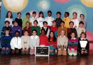 Et voici la photo de sa classe de 6e.