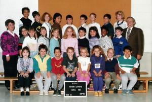 Octobre 1989. Marc-André est en cinquième année à l'école Victor-Lavigne de Saint-Léonard.