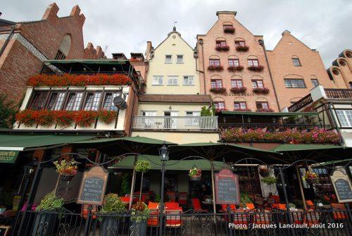 Long quai, Gdańsk, Pologne
