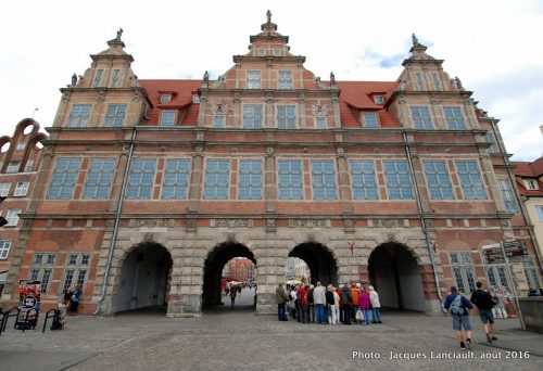 Porte Verte, Gdańsk, Pologne