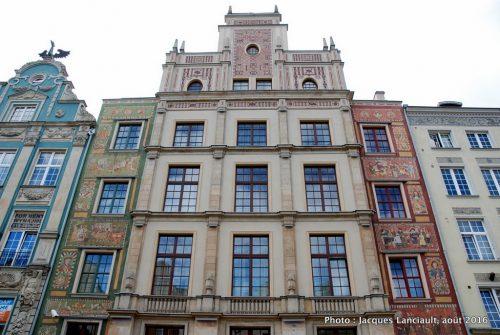 Rue du Long Marché, Gdańsk, Pologne