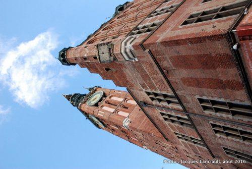 Hôtel de Ville, Gdańsk, Pologne