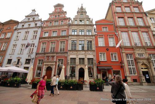 Rue Longue, Gdańsk, Pologne