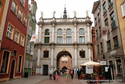 Porte Dorée, Gdańsk, Pologne