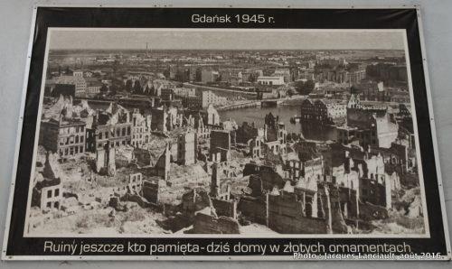 Gdańsk en 1945, Pologne