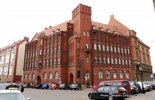 Ancienne prison, Gdańsk, Pologne