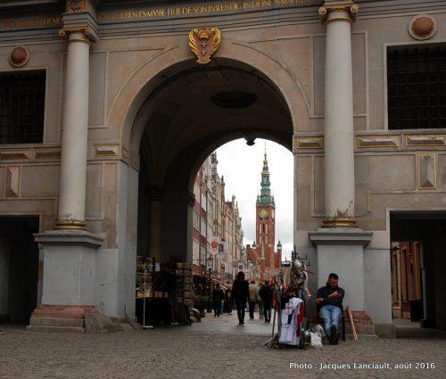 Rue Longue, <i>Ulica Długa</i>, Gdańsk, Pologne