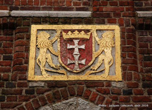 Les lions de Gdańsk, Gdańsk, Pologne