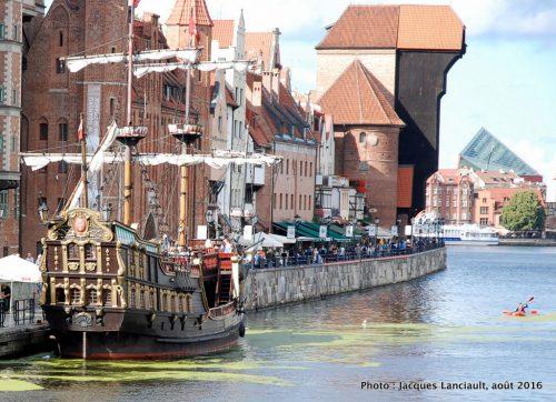 La goélette Czarna Perla, Gdańsk, Pologne