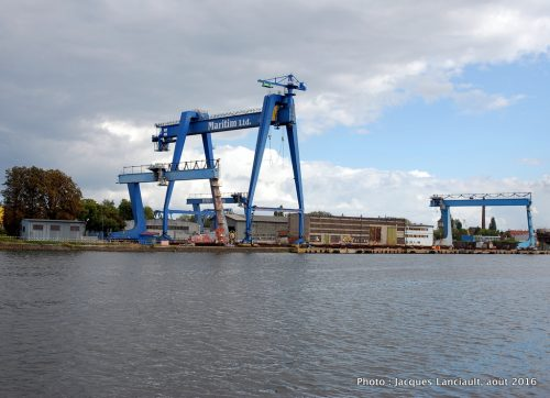 Chantiers Maritimes, Gdańsk, Pologne