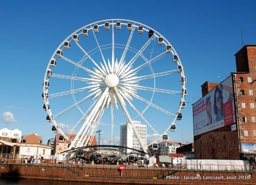 Grande roue, Gdańsk, Pologne