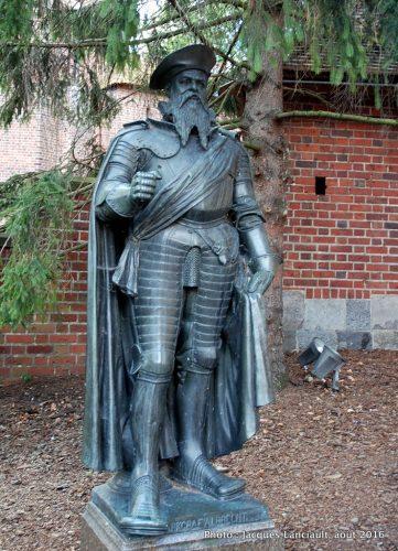 Albrecht Hohenzollern-Ansbach, Forteresse de Malbork, Pologne