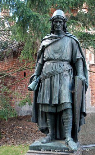 Herman von Salza, Forteresse de Malbork, Pologne