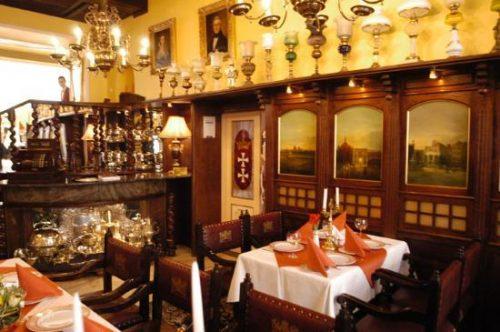 Restaurant Pod Łososiem, Gdańsk, Pologne