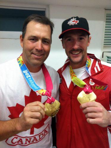 Denis Boucher et Jonathan Malo, équipe nationale senior du Canada, 2011