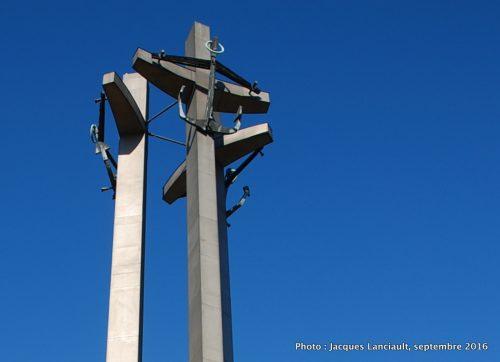 Monument aux ouvriers du chantier naval, Gdańsk, Pologne