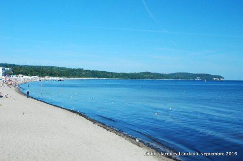 «Molo», la plus grande jetée d'Europe, Sopot, Pologne