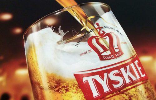 Bière polonaise, Tyskie, Sopot, Pologne