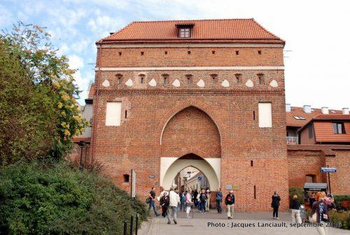 Brama Klasztorna, Toruń, Pologne