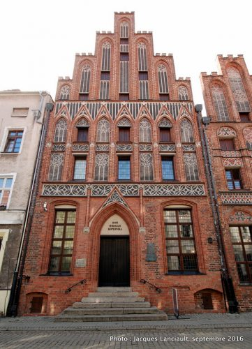 Dom Mikołaja Kopernika, Toruń, Pologne