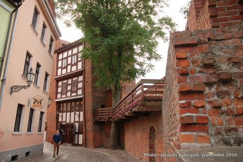 Anciennes fortifications, Toruń, Pologne