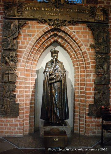 Cardinal Stefan Wyszynski, cathédrale de Gniezno, Pologne
