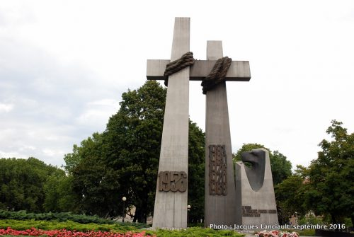 Mémorial du soulèvement de 1956, Poznań, Pologne
