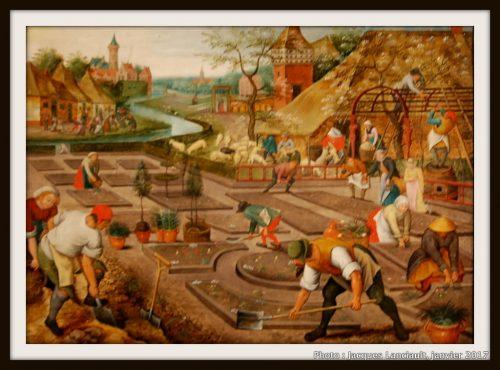 «Le printemps», Pieter Brugel le Jeune (1564), MBAM