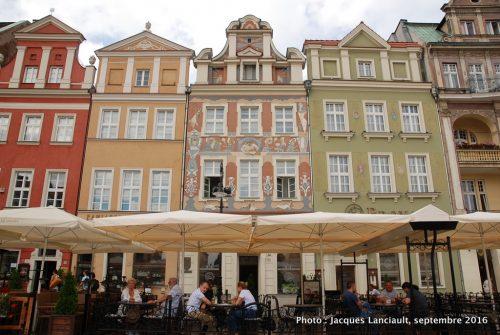 Ancienne place du marché, Poznań, Pologne