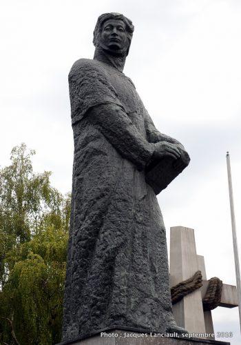 Monument Adam Mickiewicz, Poznań, Pologne