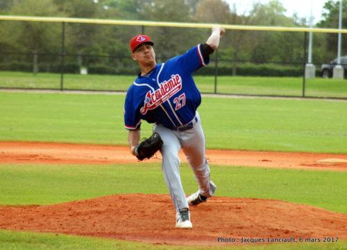 Miguel Cienfuegos, Académie Baseball Canada
