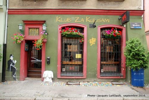 Devanture de commerce, Poznań, Pologne