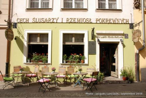 Boutique d'un serrurier, Poznań, Pologne
