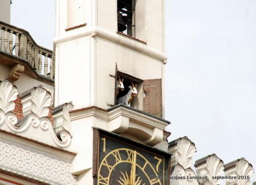 Carillon de l'ancien Hôtel de Ville de Poznań, Pologne