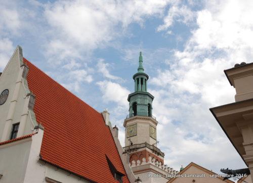 Tour de l'Hôtel de Ville de Poznań, Pologne