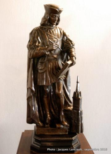 Statue, Musée historique de la ville, Poznań, Pologne