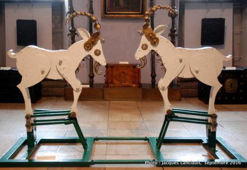 Boucs du carillon de l'Hôtel de Ville, Musée historique de la ville, Poznań, Pologne