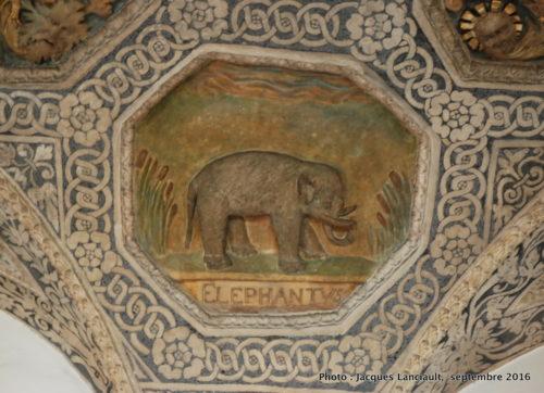 Plafond à caissons de la salle Renaissance, Musée historique de la ville, Poznań, Pologne