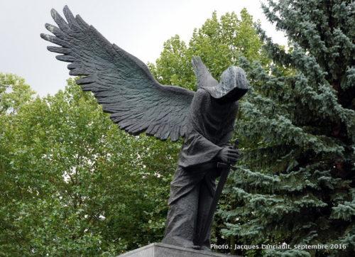 Mémorial des victimes du massacre de Katyn, Wrocław, Pologne
