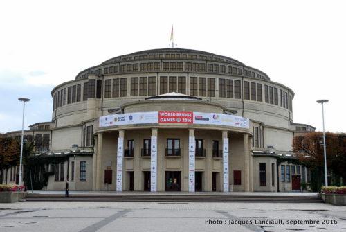 Édifice de la Halle du Centenaire, Wrocław, Pologne