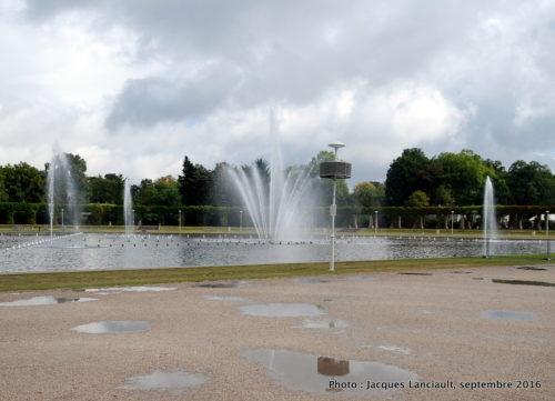 Parc de la Halle du Centenaire, Wrocław, Pologne