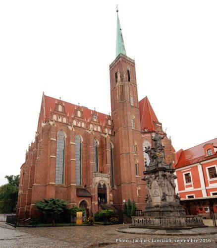Église Saint-Pierre et Saint-Paul, île Ostrów Tumski, Wrocław, Pologne