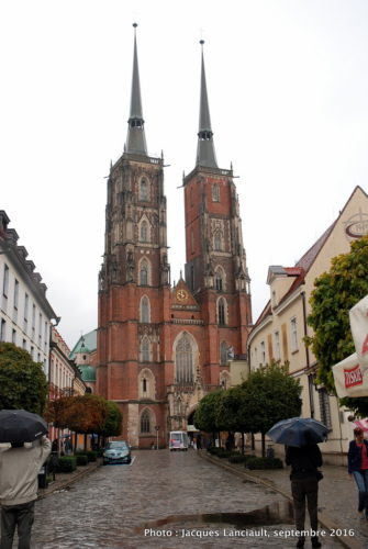 Église Saint-Jean-Baptiste, île Ostrów Tumski, Wrocław, Pologne